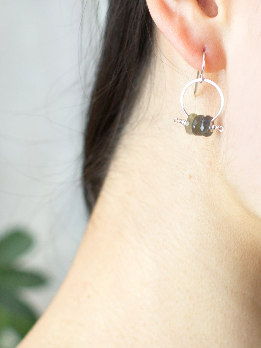 Kiki Labradorite Earrings