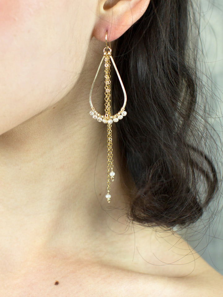 Hildur Pearl Earrings