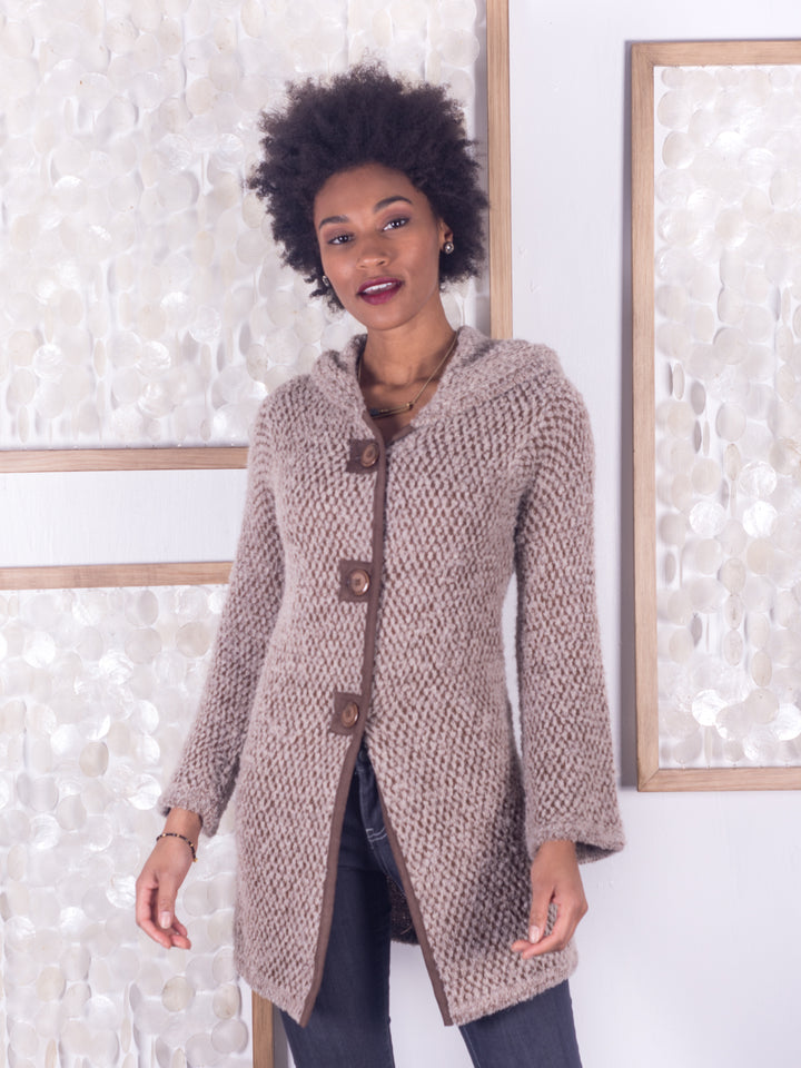 Rustico Alpaca Knit Coat
