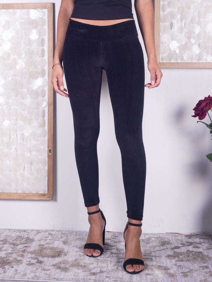 Organic Velour Leggings