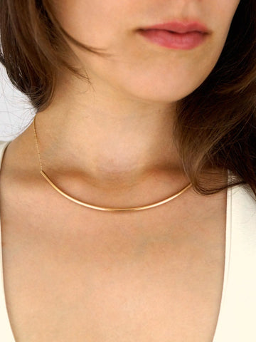 Tube Collar Necklace