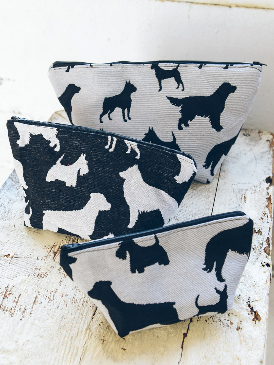 Dog Silhouette Pouch - Large