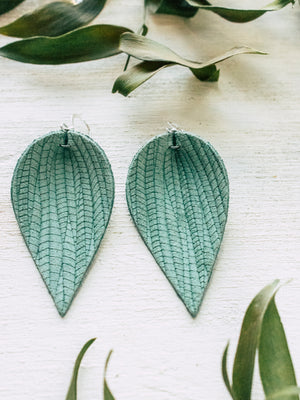 Aria Leaf Earrings