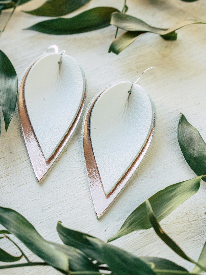 Simone Leaf Earrings