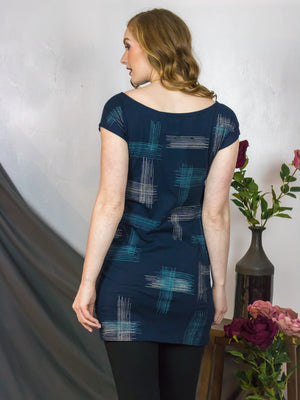 Crosshatch Tee Dress