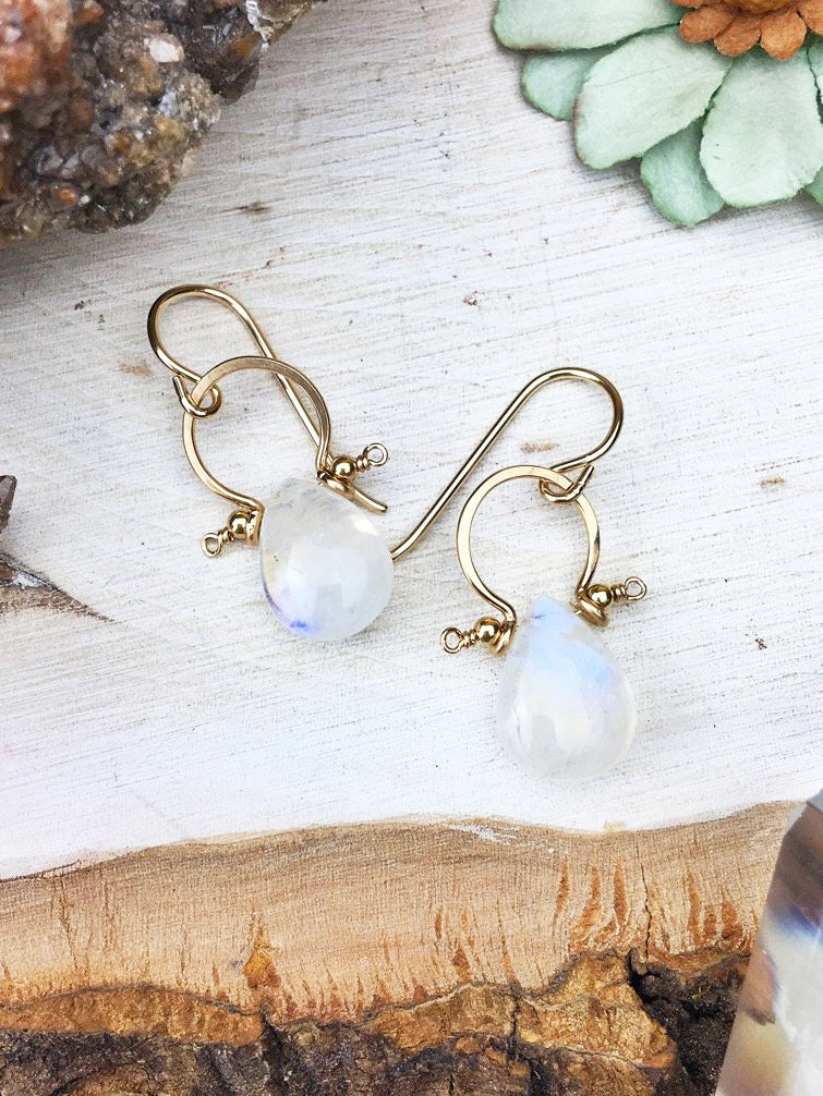 Moonstone Fifi Earrings