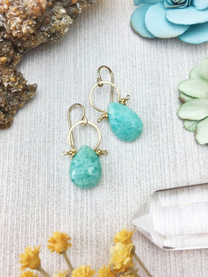 Amazonite Fifi Earrings