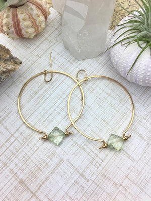Gemma Hoop Earrings