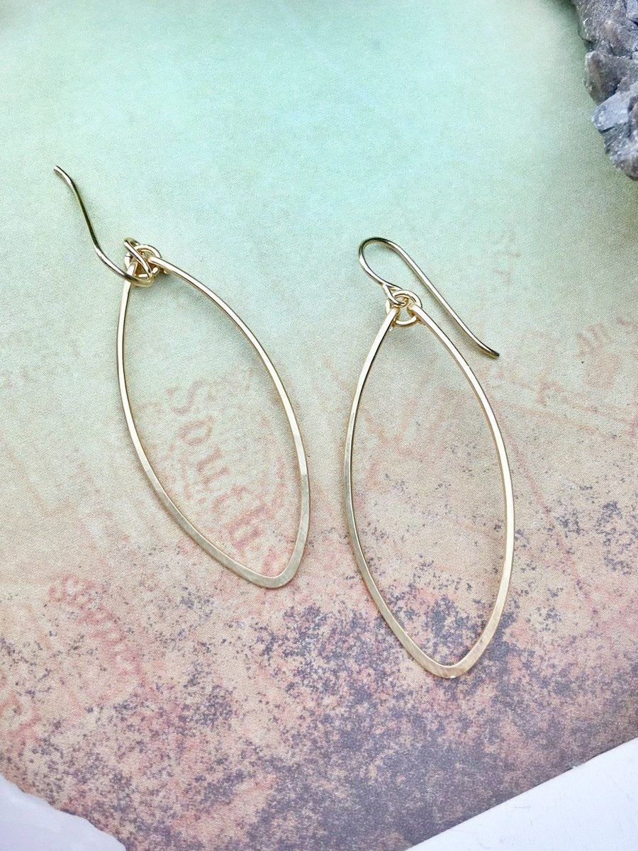 Soft Diamond Hoops