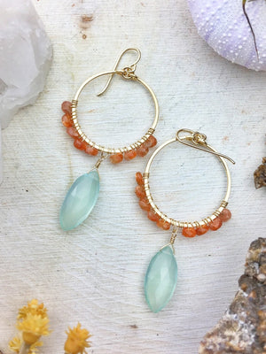 Maxine Hoop Earrings