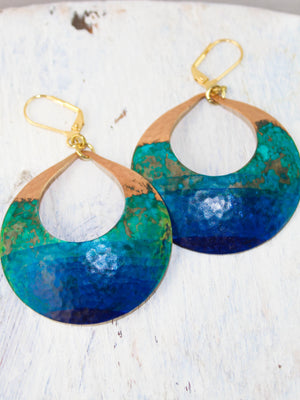 Watercolor Devi Earrings