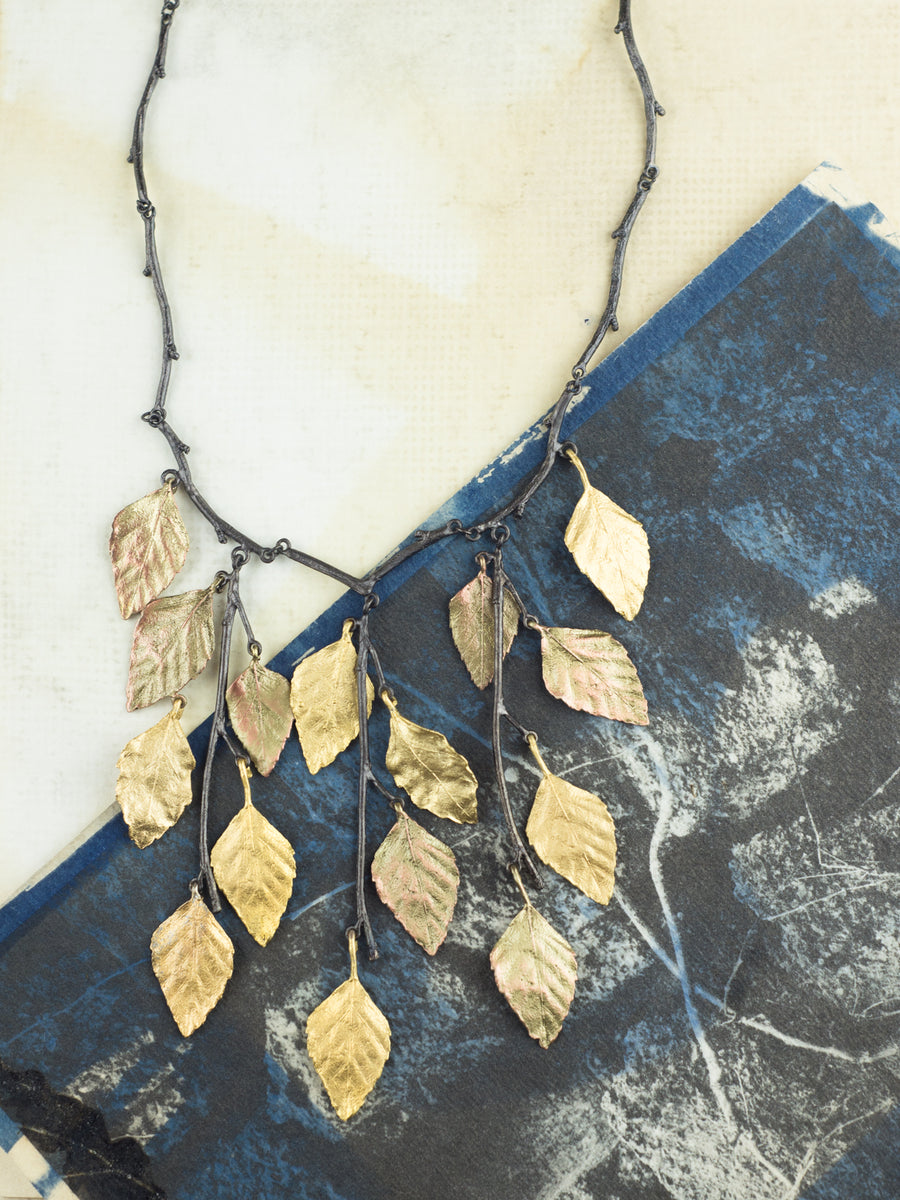 Autumn Birch Necklace