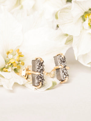 Chilam Druzy Earrings