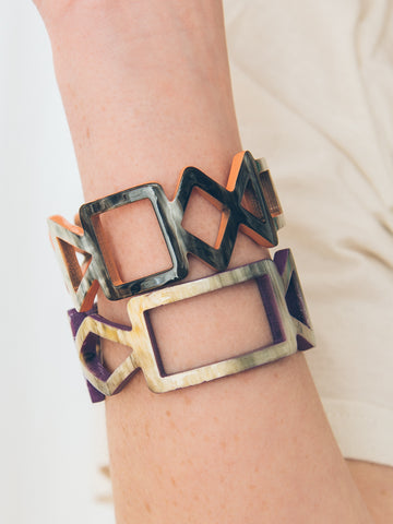 Mondrian Bangle - FINAL SALE