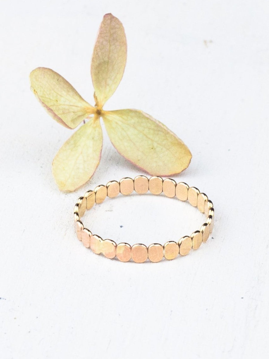 Gold Bead Ring