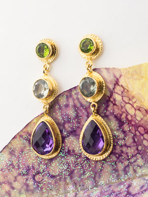 Queen Anne Earrings