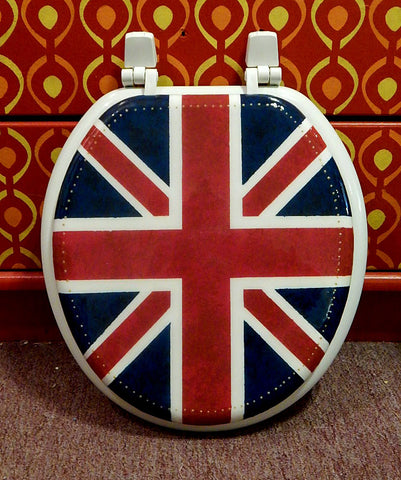 Custom Union Jack Toilet Seat
