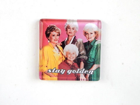 Stay Golden 2-inch Magnet