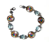 Copy of Rainbow Unicorn Kitty Cat Bracelet