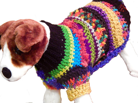 Scrappylicious Doggie Sweater
