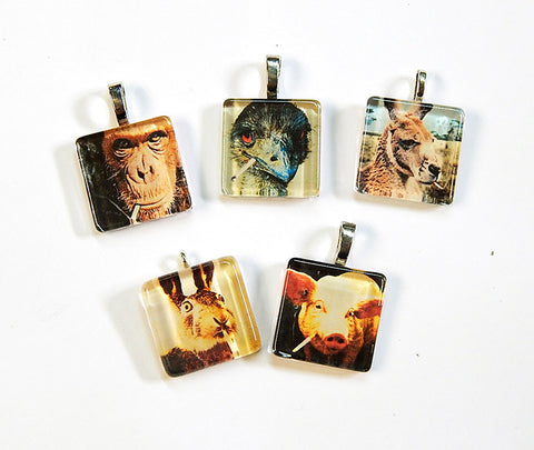 Smoking Animals Pendant