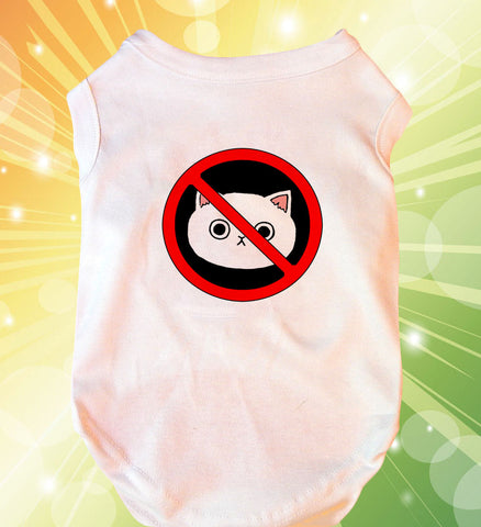 No Cats Doggie Tank Top
