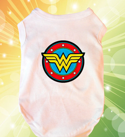 Wonder Woman Doggie Tank Top