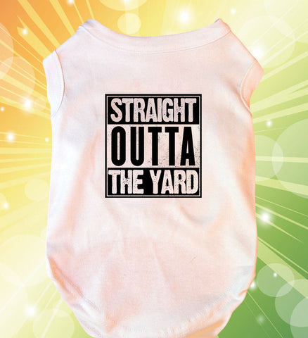 Straight Outta the Yard Doggie Tank Top
