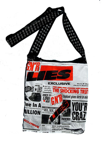Guns'n'Roses Crossbody Totebag
