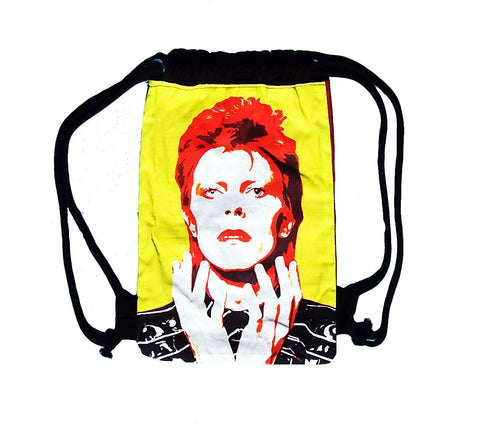 Mini Bowie Drawstring Backpack
