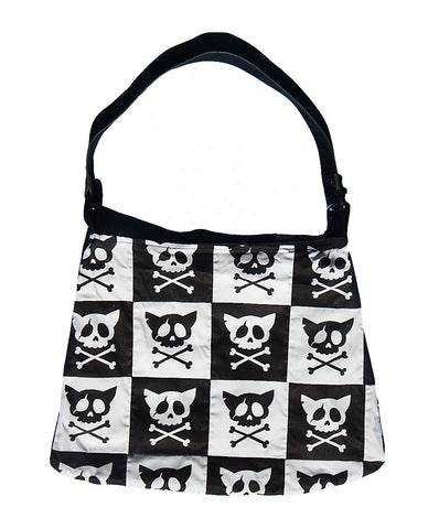 Crossbone Kitty Shoulder Bag