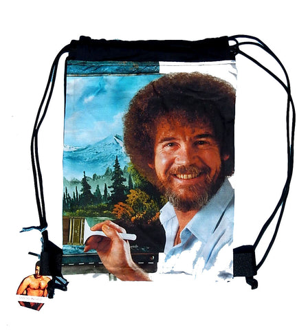 Happy Trees Drawstring Backpack