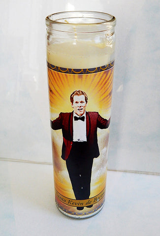 Kevin Bacon Prayer Candle