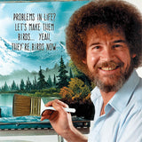 Bob Ross Tile Coaster