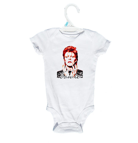 Bowie Baby Onesies and T-Shirts