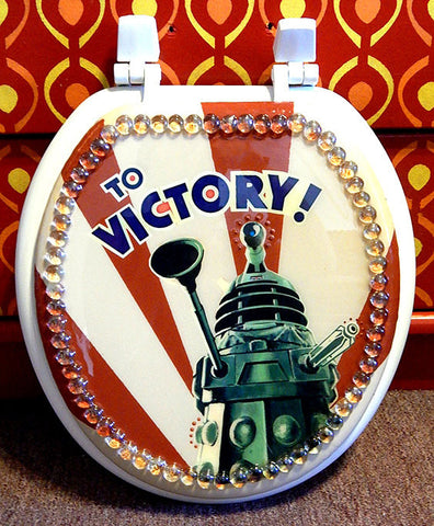 Custom Dr. Who Toilet Seat
