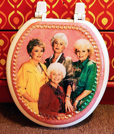 Custom Golden Girls Toilet Seat