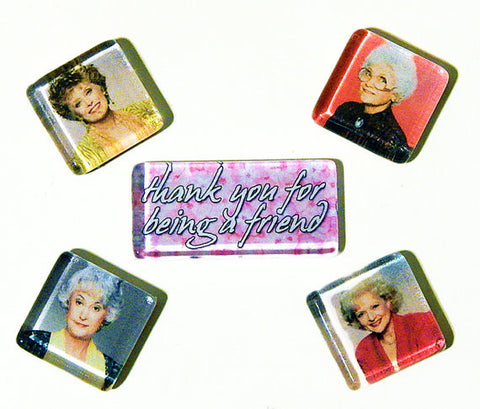 Golden Girls Magnet Set