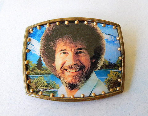Happy Trees Belt Buckle - only one available!