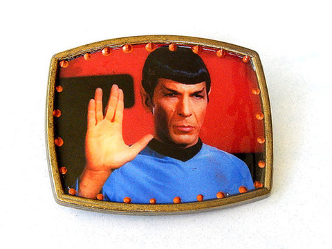Spock Belt Buckle - only one available!