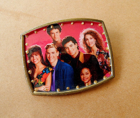 Saved By the Bell Belt Buckle - only one available!