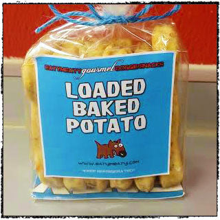 EatyMeaty Gourmet Loaded Baked Potato Snackers