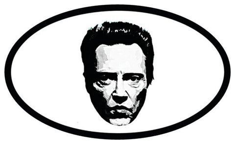 Christopher Walken Bumper Sticker