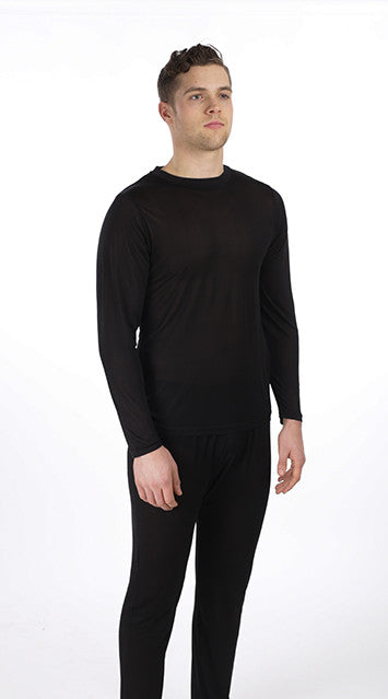 Bamboo Long Sleeve Crewneck Top Unisex