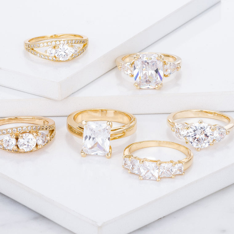 Classic Gold Rings Collection