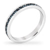 September Crystal Eternity Band