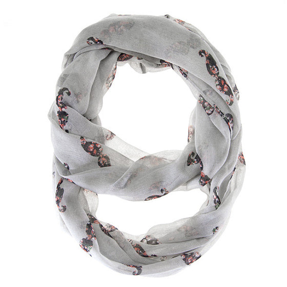 Forever Grey Infinity Scarf