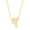 Alexia 14k Gold Pendant Q Initial Necklace