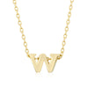 Alexia 14k Gold Pendant W Initial Necklace
