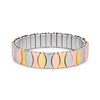 Triton 13mm Stainless Steel Stretch Bracelet